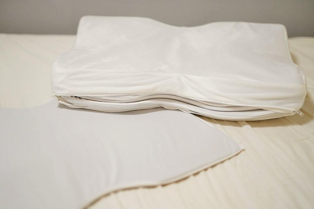 高さが調節できる枕